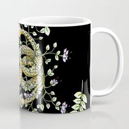 Neverending Story Inspired Auryn Garden in Black Coffee Mug