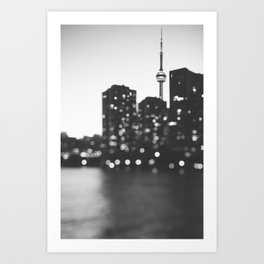 Toronto At Night Art Print