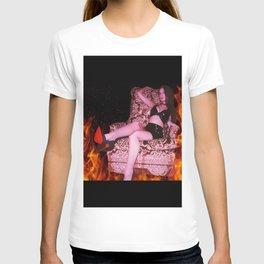 Fiery Aries She Devil T-shirt