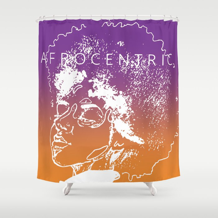 AFROCENTRIC Shower Curtain By Jay Ka