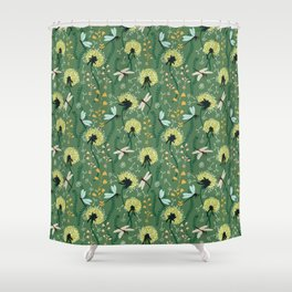 Dandelion Day Shower Curtain