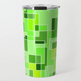 Pixelated Camouflage Travel Mug