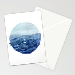 Around the Ocean Stationery Cards