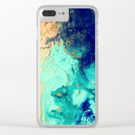 Gold Coast Clear iPhone Case