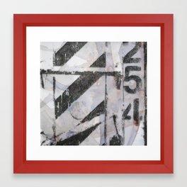 Dumpster 254 Framed Art Print