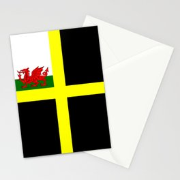 Flag of Saint David Stationery Cards