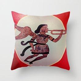 sTrumpet Throw Pillow