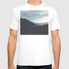 winter wind stops my breathing Mens Fitted Tee MEDIUM White