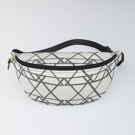 lines crayon-ivory Fanny Pack