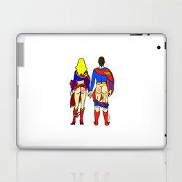 Superhero Butts Love 1 - Super Birds Laptop & iPad Skin