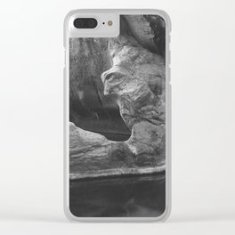 Tinaja in Leyva Canyon, Big Bend Ranch State Park Clear iPhone Case