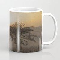 arabic Mugs featuring Arabic by Louise Machado