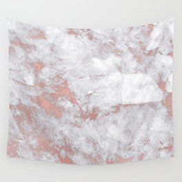 Marble Rose Gold - Lost Wall Tapestry