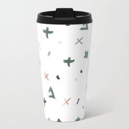 Abstract Christmas Travel Mug