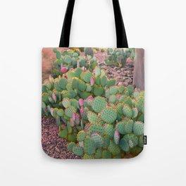 Prickly Pear Cactus Arizona Tote Bag