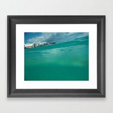 Bermuda Water Framed Art Print