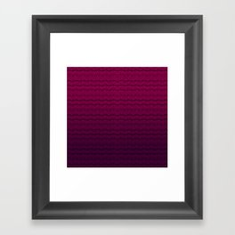 Ziggurat | Tribal Framed Art Print