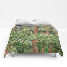 Hidden Treehouse Comforters