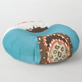 Zissou The Life Aquatic Floor Pillow