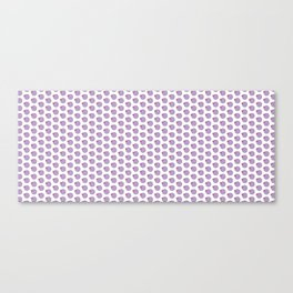 Spiffy circle and square pattern Canvas Print