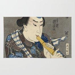 Utagawa Kunisada - Goshaku Somegoro. Rug