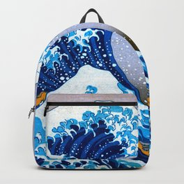 The Great Wave off Kanagawa (Bright & Colorful) Backpack