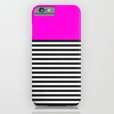 STRIPE COLORBLOCK {PINK} iPhone 6s Slim Case