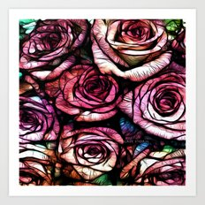 :: Rose Colored :: Art Print