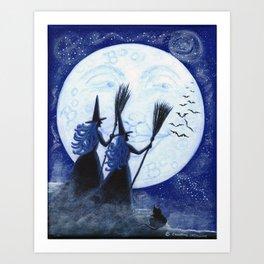 Conjuring Constellations Art Print