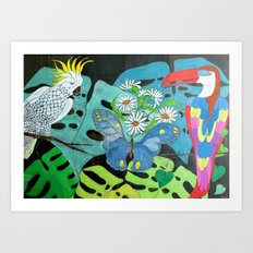 Insieme con Allegria (Together with Happiness) Art Print