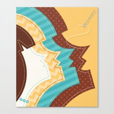 Sew Happy Canvas Print