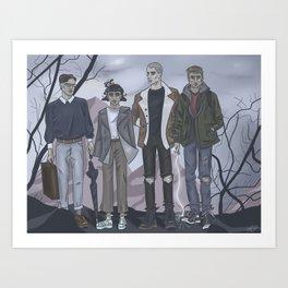 The Raven Gang Art Print