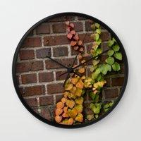 climbing Wall Clocks featuring Climbing by C. Wie Design