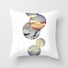 Mobile Sky Throw Pillow