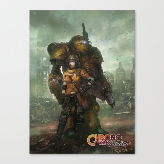 Partners in Time  Canvas Print