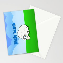 Little lamb Stationery Cards