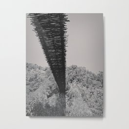 Monkey Sanctuary - Underside of bridge Metal Print