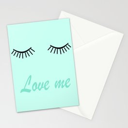 Love me 4 Stationery Cards