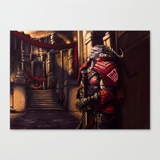 Dragon Age - A moment of Reflection Canvas Print