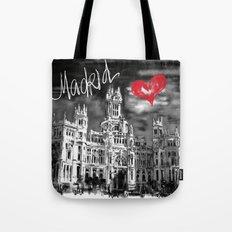 I love Madrid Tote Bag