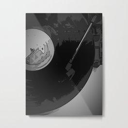 Vinyl 1 Metal Print