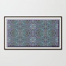 Lacy Design Canvas Print
