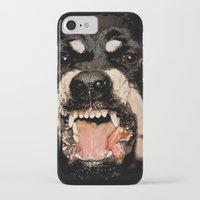 givenchy iPhone & iPod Cases featuring Givenchy Antigona Rottweiler Art Print by Le' + WK$amahoodT Boutique by Paynasa®