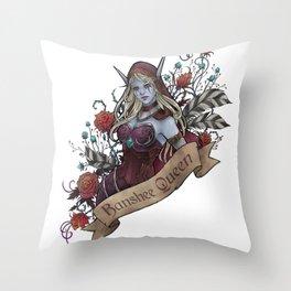 Queen of the Forsaken Throw Pillow