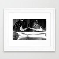 nike Framed Art Prints featuring Nike by Rebekah