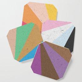 Rainbow Wheel of Inclusivity Coaster