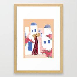 Cyclades Framed Art Print