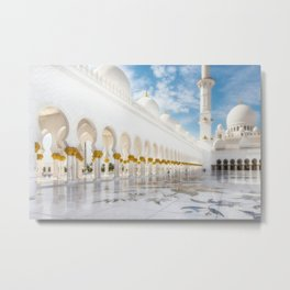 Moschee Metal Print