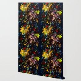 Blooms, deep Wallpaper