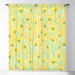 Dandelion Yellow Blackout Curtain